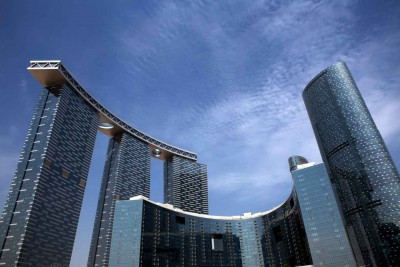 Gate Towers & The Arc/Sky Tower || Abu Dhabi || UAE