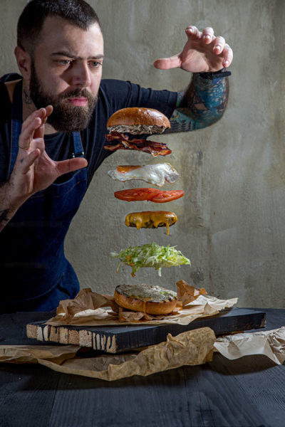 The Burger Whisperer || Chef- Antonis Moustakis